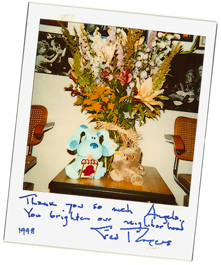 A Thank You from Mister Rogers