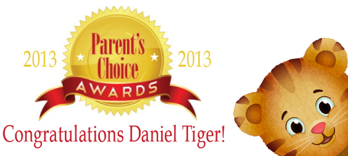 Daniel Tiger's Neighborhood Parents Choice Award
