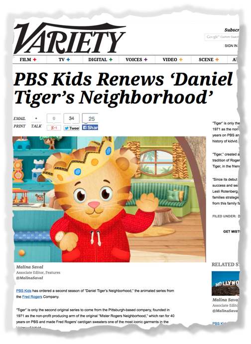 Daniel Tiger Renewed