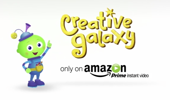 Creative Galaxy Amazon Title Art