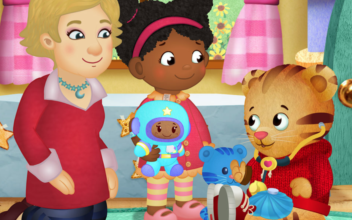 Meet Daniel Tiger's Miss Elaina