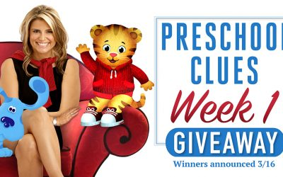 Preschool Clues Giveaway Week 1