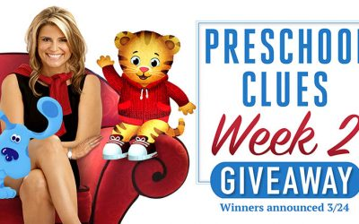 Preschool Clues Giveaway Week 2