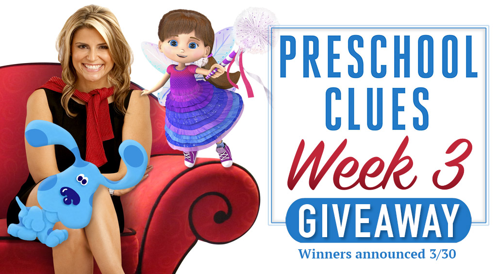 Preschool Clues Giveaway Week 3