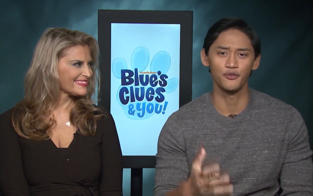 Santomero & Josh Dela Cruz talk Blue's Clues & You
